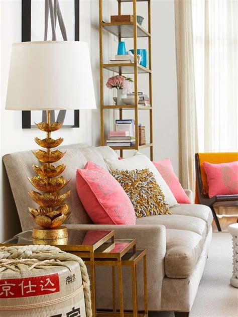home n decor gold coral cream living room home decor ideas gypsy soul