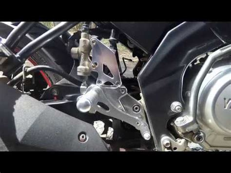 Foot Step Underbone Vixion New Cb150r Mx New 150 Moto Gp my new vixion lightning doovi
