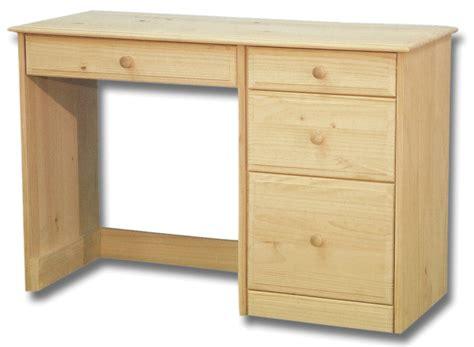 3 drawer solid pine desk desks