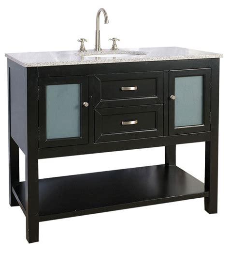 42 inch bathroom vanity cabinets 42 inch bathroom vanity with glass cabinet in bathroom
