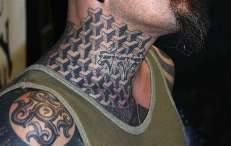 rose tattoo on neck gang 50 best neck tattoo design and ideas for men