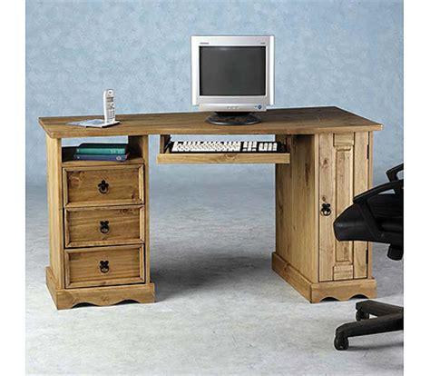 Pine Corner Computer Desk Corner Computer Desk