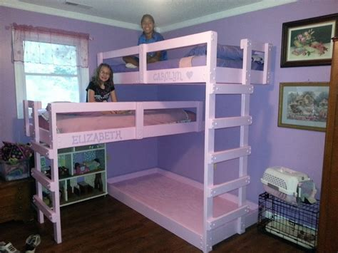 4 Person Bunk Bed Diy Bunk Bed The Owner Builder Network