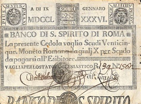 banco di santo spirito banco di santo spirito di roma 1786 di alberto puppo