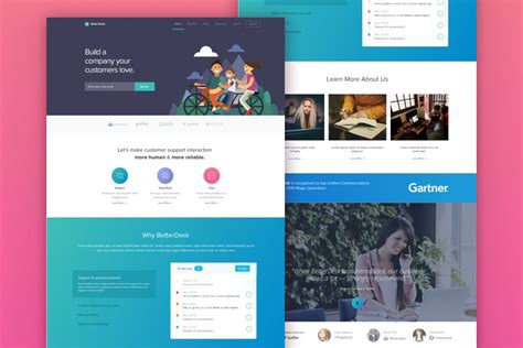Betterdesk Sketch Website Template Graphic Ghost Sketch Web Template