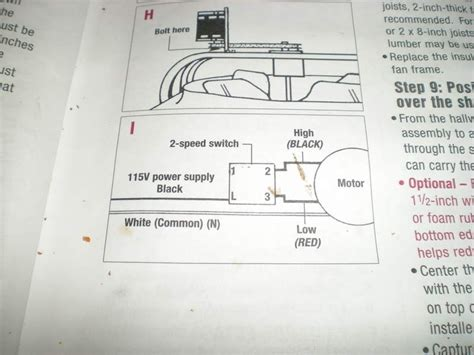 2 speed attic fan switch whole house fan wiring diagram wiring diagram and