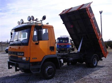 daf 11 990 kg of 3 side truck 1997 three sided tipper