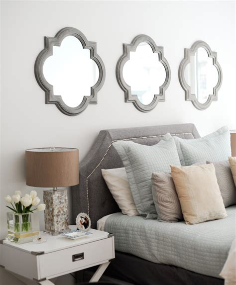 bed bath beyond mirrors bed bath and beyond mirrors inspire q esmeral grey linen