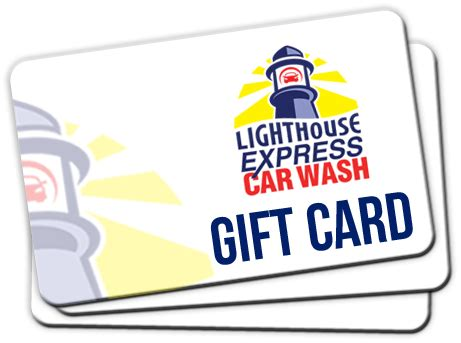 Recharge Gift Card - gifts cards buy online lighthouse express car wash