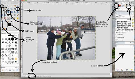 tutorial gimp basic diy christmas card tutorial basic design in gimp amy