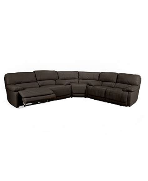 nina sectional sofa reviews nina 3 piece leather power reclining sectional sofa