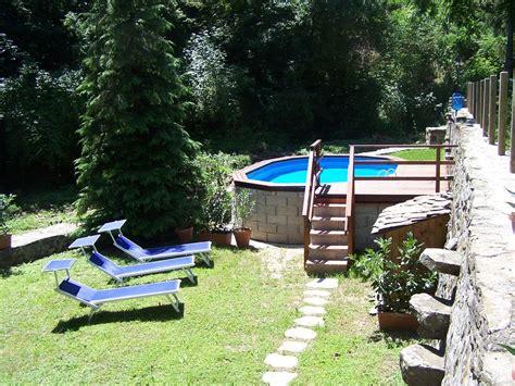 piscine bagni di lucca chalet rustique dans la cagne avec wifi illimit 233 et