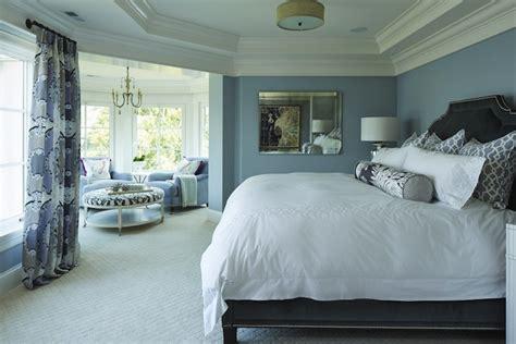 blue  gray bedroom transitional bedroom benjamin