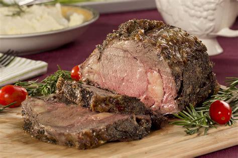 roasted prime rib of beef mrfood com