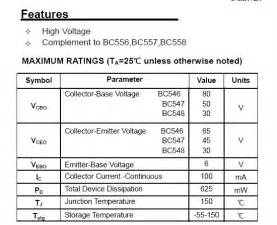 bc547 transistor array bc547 transistor array 28 images transistor npn 2n3904 in india thingbits electronics about