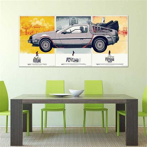Zur Ck In Die Zukunft Auto by Zur 252 Ck In Die Zukunft Delorean Dmc 12 Auto Wand Kunstdruck