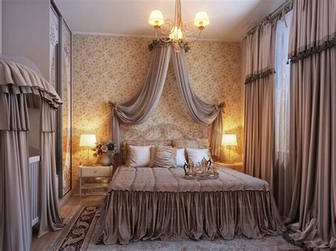 traditional style curtains opulent romantic bedroom design interior design ideas