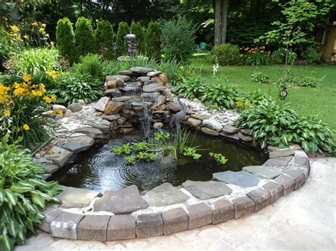 backyard waterfalls and ponds backyard extraordinary backyard ponds with backyard