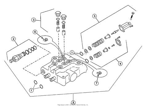 hydraulic valve diagram simplicity 1692932 loader front end parts diagram for