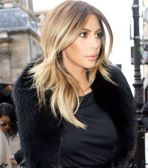 kim kardashian blonde balayage highlights photos 8 best images about hair beauty that i love on pinterest