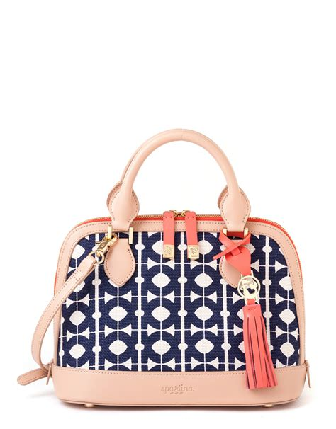 Spi Home Decor hilton head bowler satchel by spartina 449