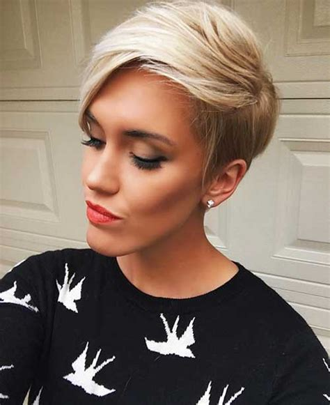 short hairstyle ideas  oval faces short