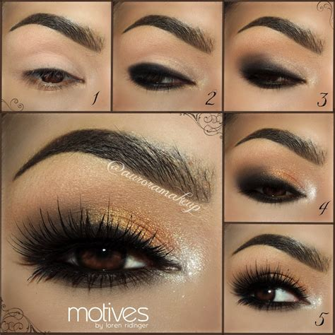 Eyeshadow Gold Tutorial loren s world loren s world trends