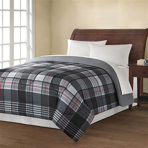 grey plaid bedding purchase the mainstays plaid comforter at an always low