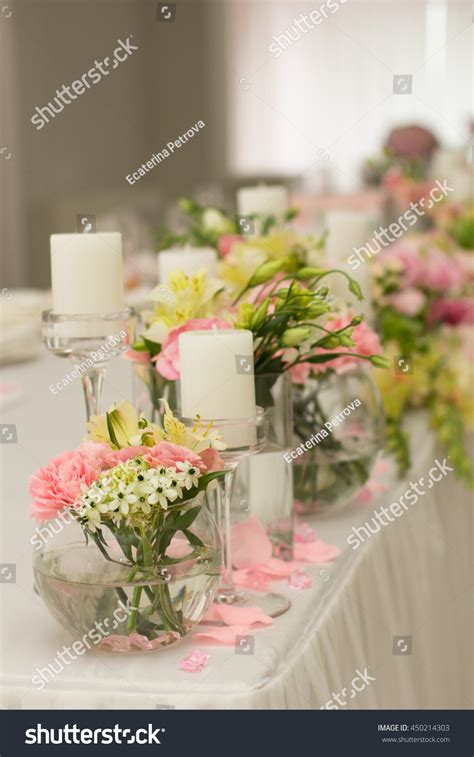 Wedding Background Set by Wedding Decoration Flowersbouquet Front Wedding Background