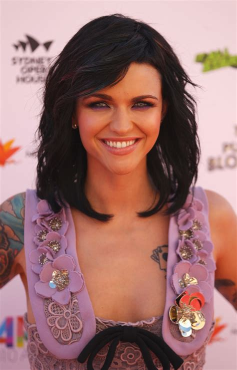 whoa what happened to ruby rose s tattoos cambio