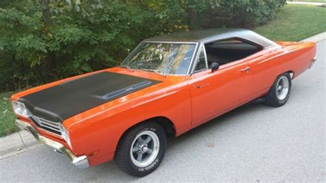 great plymouth indiana purchase used great deal 1969 plymouth roadrunner matching