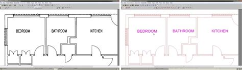 convert image to floor plan how to convert an image to dxf scan2cad