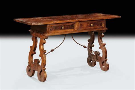 tavolo fratino a libro tavolo fratino in noce xviii secolo antiquariato e