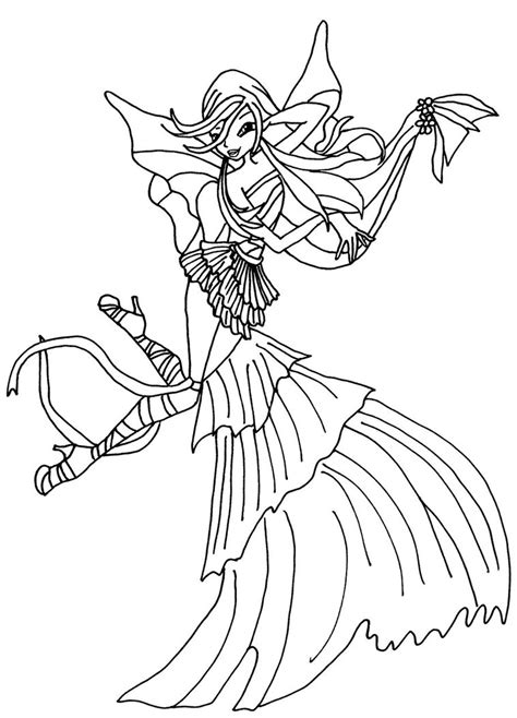 winx club musa harmonix coloring pages coloring pages