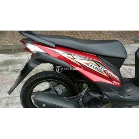 Honda Beat Pgm Fi 2014 Merah motor matik honda beat pgm fi second tahun 2014 merah