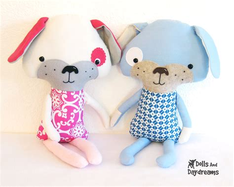 pattern sewing toys dolls and daydreams doll and softie pdf sewing