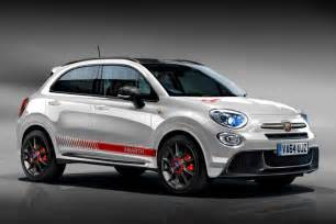 Fiat Abarth Uk Fiat 500x Abarth And Exclusive Image Pictures