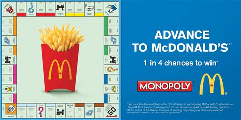 Mcdonalds Monopoly Instant Win Prizes Canada - more than chance 25 years of mcdonald s monopoly 187 strategy