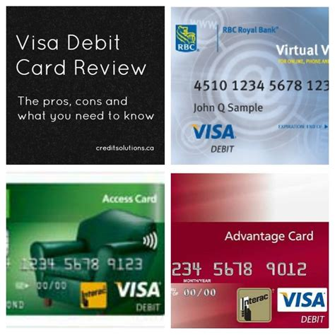 Visa Debit Card Template by Rbc Business Credit Cards Canada Image Collections Card