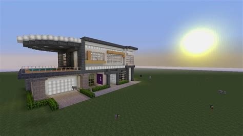 Modern House built with city texture pack   MCX360: Show