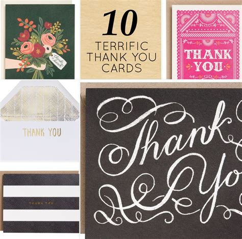 Thank You Gift Card - modern etiquette thank you dos and dont s 10 cute thank you cards design sponge