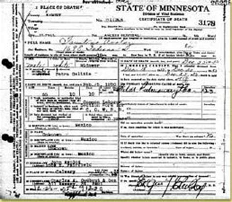 Minnesota Birth Records Index Tracing Your Family History Mnhs Org
