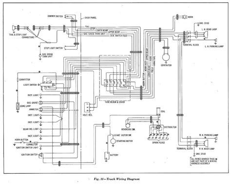 wiring diagrams for light duty trucks wiring diagrams