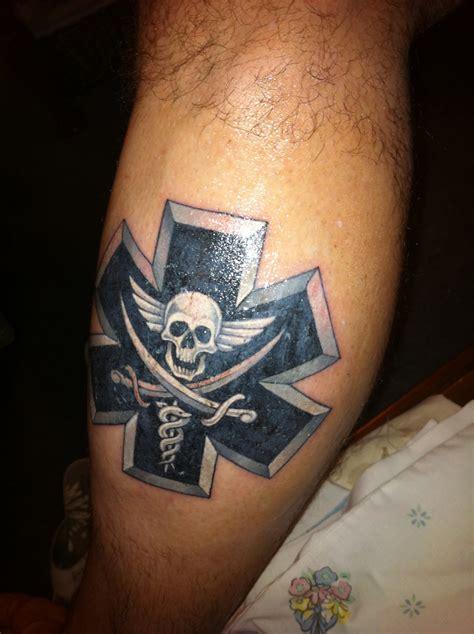 emt tattoos on ems tattoos paramedics and