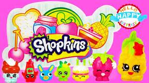 shopkins supermarket playset toy unboxing small mart series 1
