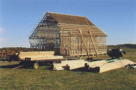 Corn Crib Plans by Building A Corn Crib From 1915 Farm Farm Collector