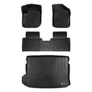 cargo mat for a 2017 buick envision maxfloormat floor mats 2 row set and maxtray cargo liner