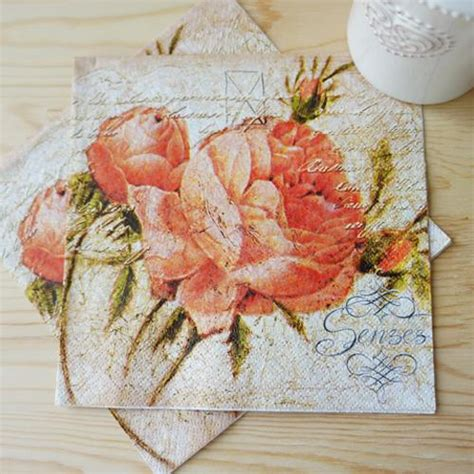 Tissue Decoupage 33x40cm Isi 5 popular decoupage paper buy cheap decoupage paper lots from china decoupage paper suppliers on