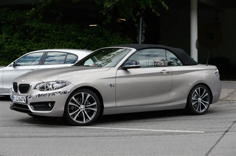 bmw 2 series convertible prototype front side view photo 6