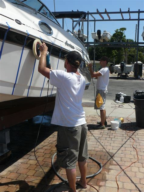 boat detailing service marine detailing services detail daddy